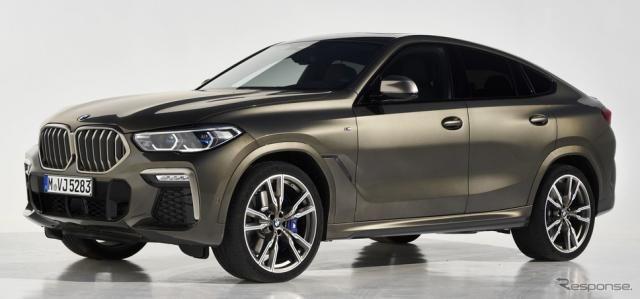 BMW X5・X6・X7 ディーゼルモデル、48Vマイルドハイブリッド搭載