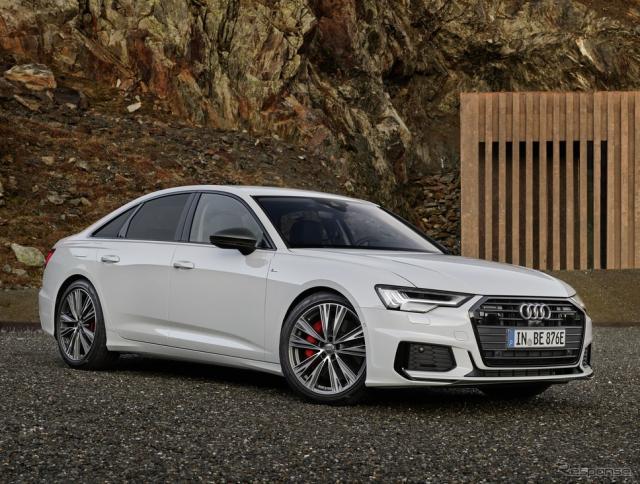アウディ A6 セダン のPHV「55TFSI e」《photo by Audi》
