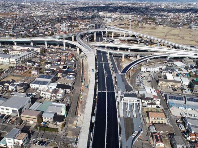 名古屋西JCT《写真提供 中日本高速道路》
