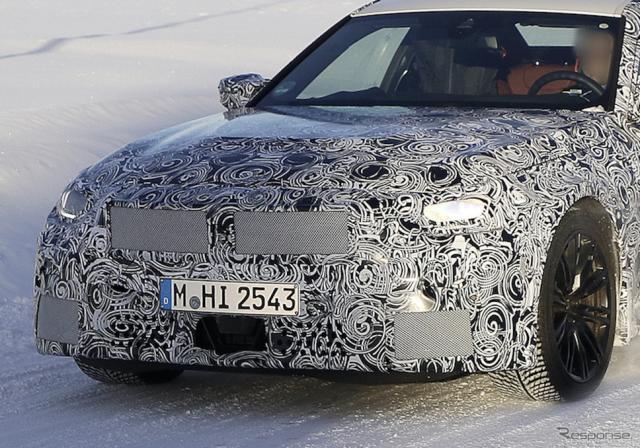 BMW M2クーペ 次期型プロトタイプ(スクープ写真)《APOLLO NEWS SERVICE》