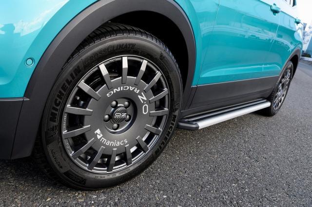 VW T-クロス装着画像《写真提供 キザス》