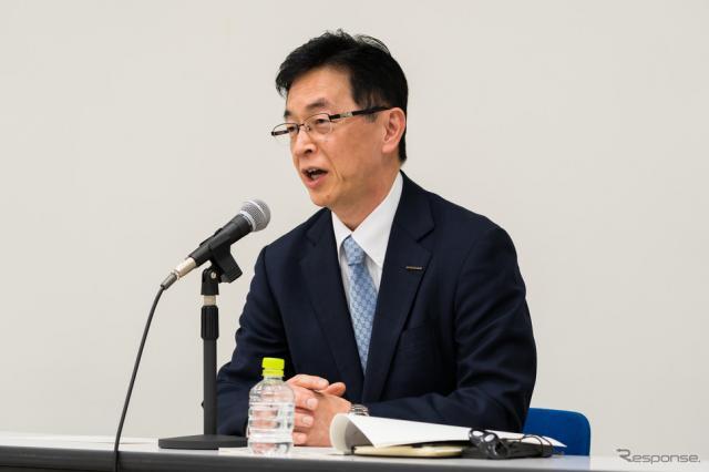 日産自動車の平井俊弘専務執行役員《写真提供 日産自動車》