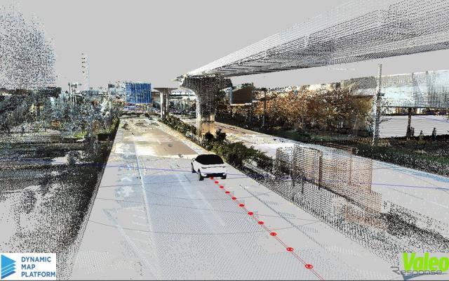 自動運転向けHDマップのイメージ《画像提供 ダイナミックマップ基盤》