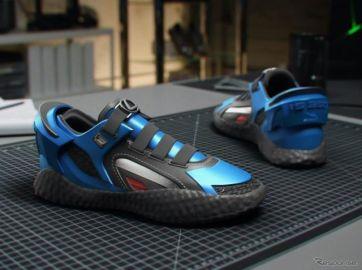 レクサス IS がモチーフのスニーカー…ダイナミックなハンドリングに触発、走る・曲がる・止まる?