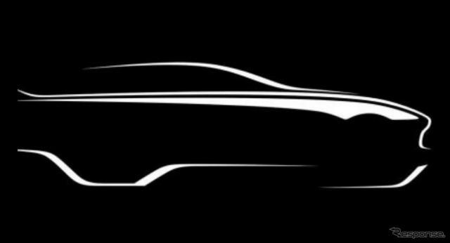 アストンマーティンの新型SUVのティザースケッチ《photo by Aston Martin》