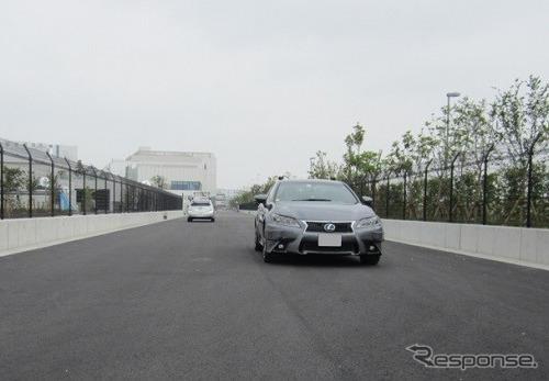 Global R&D Tokyo, Haneda テスト路《写真提供 デンソー》