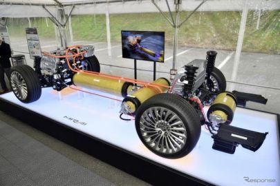 【トヨタ MIRAI 新型】高圧水素タンクにナイロン6樹脂を採用、宇部興産と共同開発