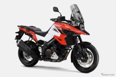 スズキ V-ストローム1050、2021年モデル発売へ…カラーリング変更