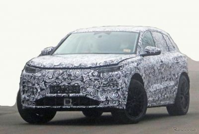 アウディの新型EV『Q5 e-tron』市販型を初スクープ!