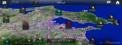 花粉飛散量の予測情報をナビゲーションマップ上に表示 メルセデスベンツ