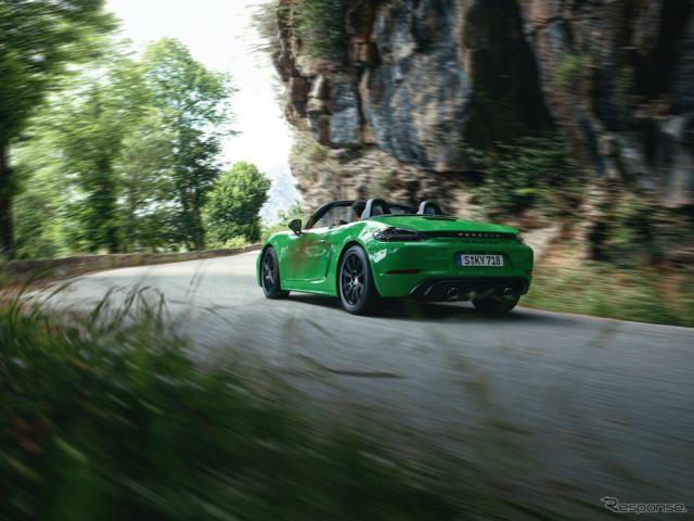 ポルシェ718ボクスターGTS 4.0《photo by Porsche》