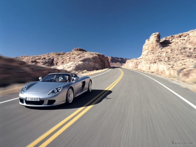 ポルシェ・カレラGT《photo by Porsche》