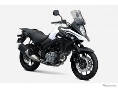 スズキ、アドベンチャーツアラー V-ストローム650 のカラーリング変更 3月12日発売