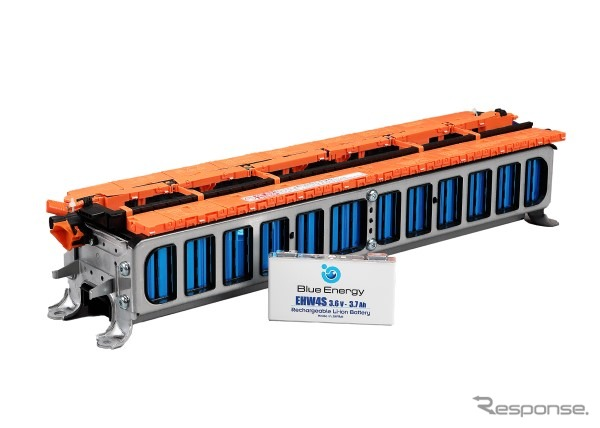 GSユアサの車載用リチウムイオン電池《写真提供 GSユアサ》