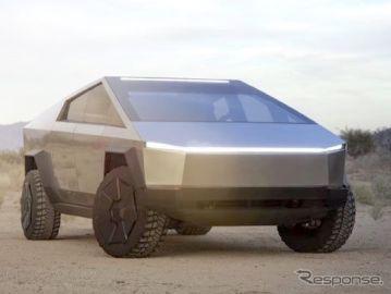 テスラ『サイバートラック』、アップデートモデルは4月以降に発表予定…マスクCEO