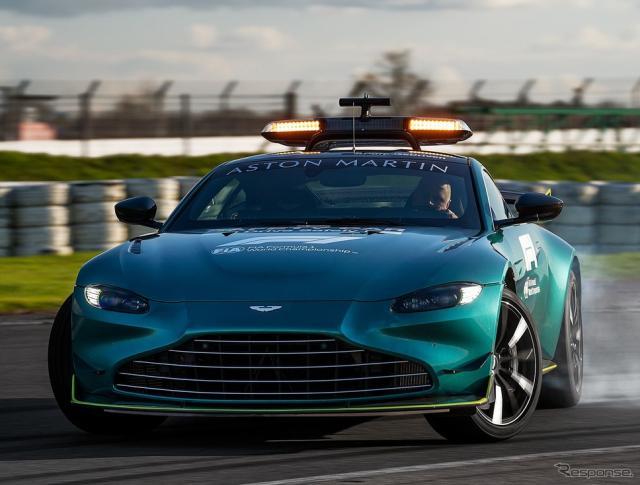 アストンマーティン・ヴァンテージ のF1セーフティカー《photo by Aston Martin》