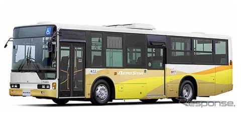 三菱ふそう、大型路線バス『エアロスター』をリコール…走行不能となるおそれ