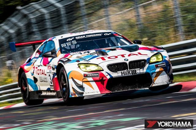 2020年のNLSでクラスチャンピオンを獲得したWalkenhorst MotorsportのBMW M6 GT3《写真提供 横浜ゴム》