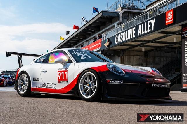 Porsche Sprint Challenge North America by Yokohamaに参戦するPorsche 911 GT3 Cup《写真提供 横浜ゴム》