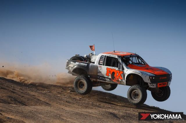 BlueWater Desert Challengeで総合優勝したJustin Lofton選手の参戦車両(2020年)《写真提供 横浜ゴム》