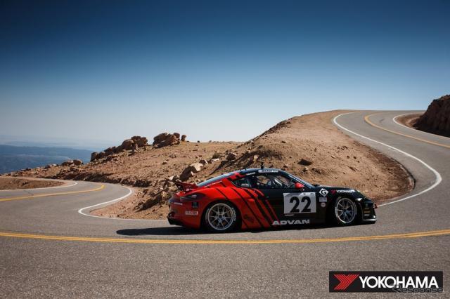 Porsche Pikes Peak Trophy by Yokohama」に参戦したPorsche Cayman GT4 Clubsport(2020年)《写真提供 横浜ゴム》