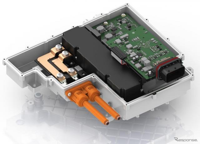 ZFの800Vシステム向けパワーエレクトロニクス《photo by ZF》
