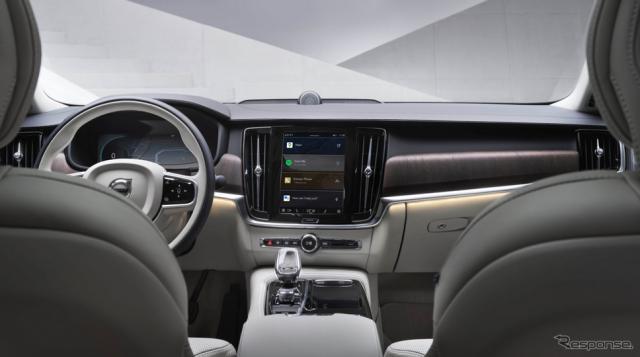 ボルボカーズのグーグル「アンドロイド」ベースのインフォテインメントシステム《photo by Volvo Cars》