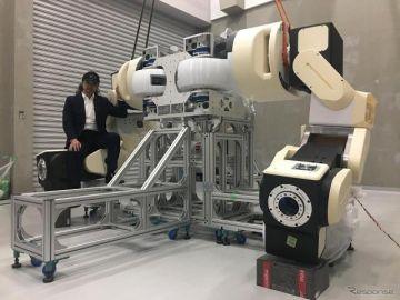 福島発、汎用人型重機「零式人機 ver.1.0」初公開へ---ロボテスEXPO