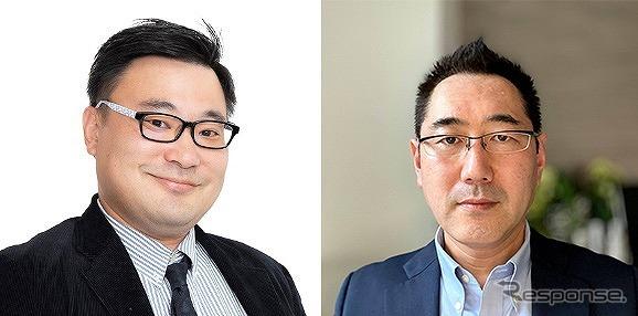 ゆーだい(左)とレスポンス編集人・三浦和也《写真提供 afterFIT》