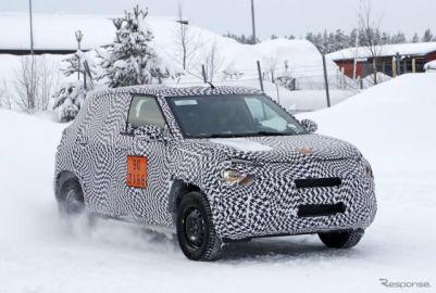 コードネームは「C21」、シトロエンが C3 ベースの廉価SUVを開発中!?