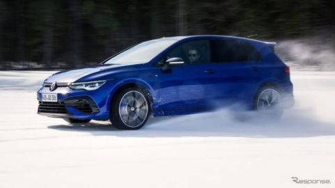 VW ゴルフR 新型、新開発「4MOTION」搭載…ドリフトモードも