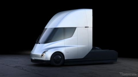 テスラ初のEVトラック『セミ』、納車は2021年内に開始予定…走行テスト[動画]