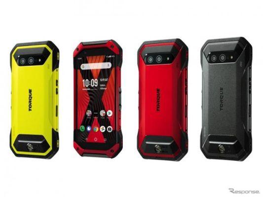 高耐久スマホが5Gに、京セラ「TORQUE」新型発表---アクションカメラも搭載