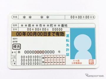 運転免許の有効期限を延長、対象を6月末まで拡大 警察庁