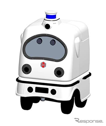 RoboCar 1/4 ロボット本体イメージ《写真提供 ZMP》