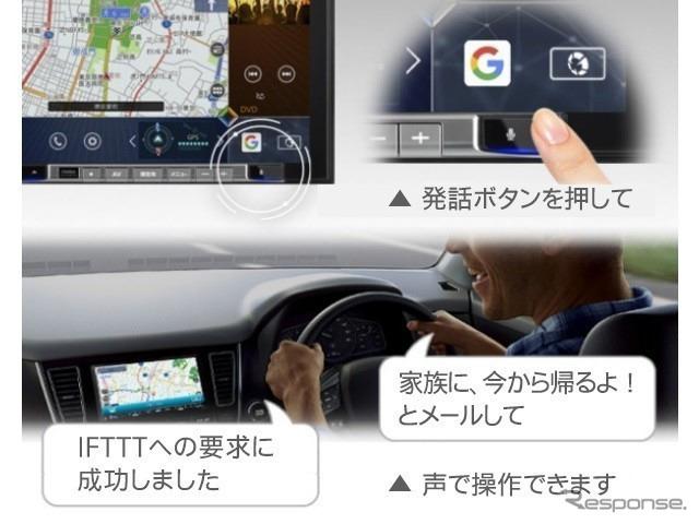 IFTTT 連携機能《写真提供 フォルシアクラリオン》