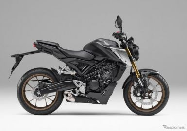 ホンダ CB125R、DOHCエンジン搭載でパワーアップ 新型発売へ