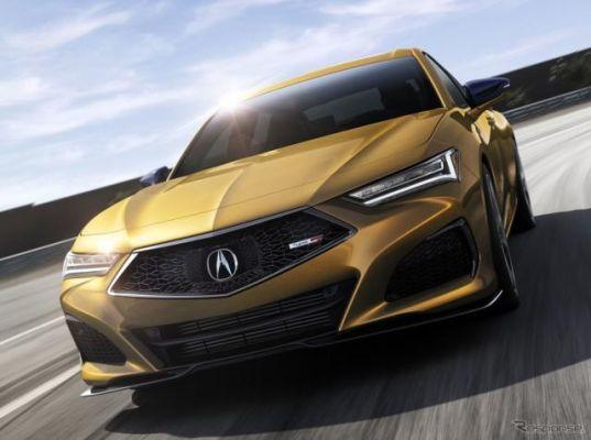 アキュラのスポーツセダン TLX 新型、「タイプS」が13年ぶり復活…5月米国発売