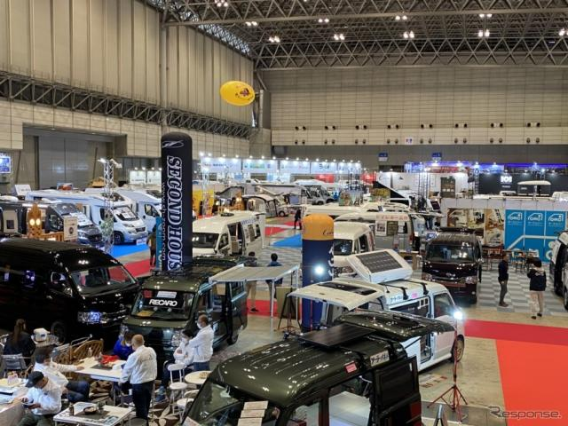 ジャパンキャンピングカーショー(2020年)《撮影:中込健太郎》