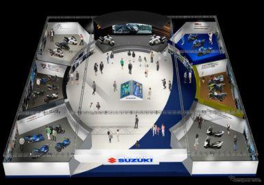 「スズキWEBモーターサイクルショー2021」公開、ハヤブサ新型など18車種を紹介
