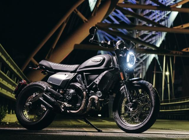 ドゥカティ・スクランブラー・ナイトシフト(2021年モデル)《photo by Ducati》