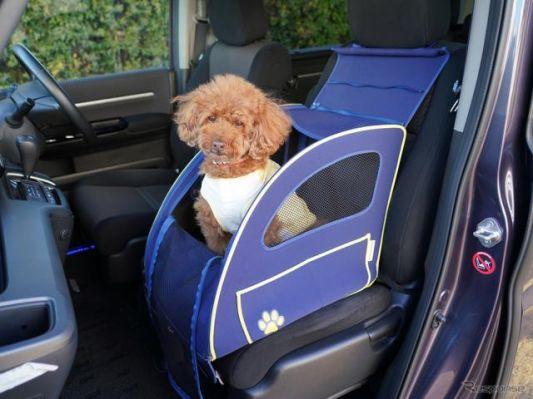 ホンダアクセス、愛犬用アクセサリー装着のN-BOXを展示予定…インターペット2021