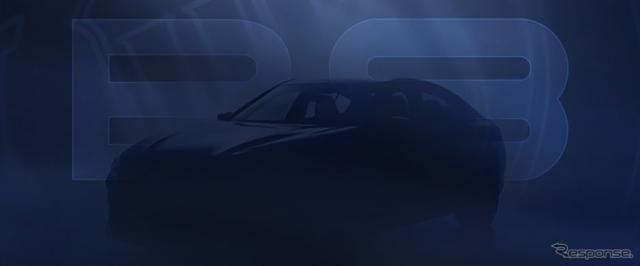 アルピナ『B8グランクーペ』、3月24日発表…ティザー[動画]