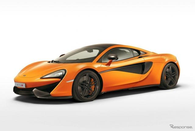 マクラーレン 570Sクーペ《photo by McLaren Automotive》