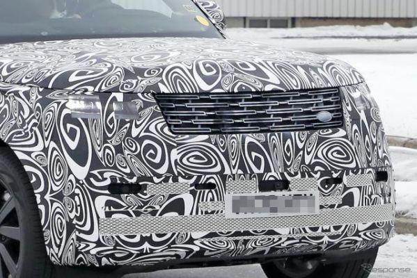 高級SUVのベンチマーク『レンジローバー』次世代型、高級感溢れる新グリルが見えた