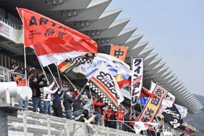 【SUPER GT】富士公式テスト…メーカー&チームの垣根を超えて応援団の声を届ける
