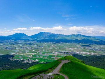 「日産 リーフ で来たら駐車場無料」阿蘇市がEV優遇で観光活性へ 4月1日より