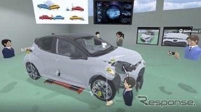 VRを活用して自動車事故調査の研修 三井住友海上火災保険が導入