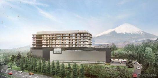 「富士スピードウェイホテル」が2022年秋に開業へ…モータースポーツ博物館も