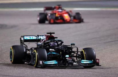 【F1 バーレーンGP】フェルスタッペンとのバトルを制したハミルトンが開幕ウィン…角田は9位入賞